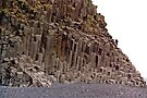 Basalt Cliffs, Dyrholaey, Iceland by Margaret  Hyde
