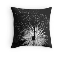 Firework 44 Throw Pillow