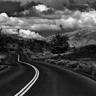 Craters of the moon bw by heidiannemorris