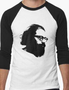 Poet Allen Ginsberg Stencil Men's Baseball ¾ T-Shirt