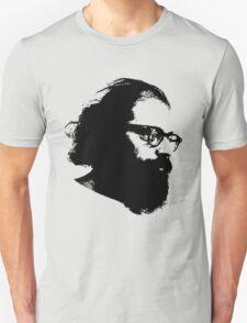 Poet Allen Ginsberg Stencil Unisex T-Shirt