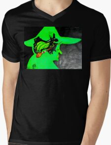 THE WICKED WITCH Mens V-Neck T-Shirt