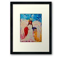 Chakra Angel Framed Print