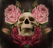 Skull And Rose's 3 by Gypsykiss