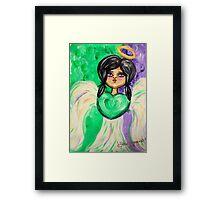 Open Heart Angel Framed Print