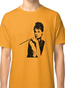 Audrey Hepburn Breakfast At Tiffanys Classic T-Shirt