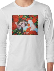 ASLEEP IN THE POPPIES , WIZARD OF OZ Long Sleeve T-Shirt
