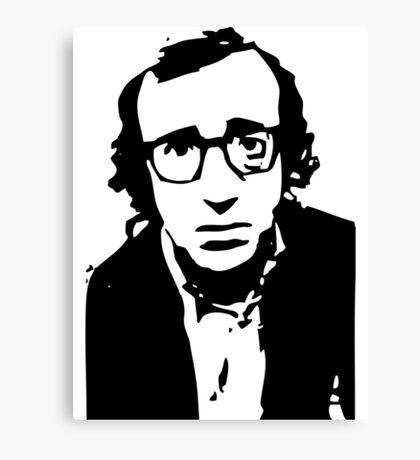 Annie Hall Woody Allen Stencil Canvas Print