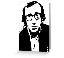 Annie Hall Woody Allen Stencil Greeting Card