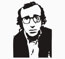 Annie Hall Woody Allen Stencil by astropop