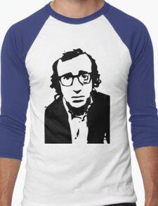 Annie Hall Woody Allen Stencil Men's Baseball ¾ T-Shirt