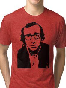 Annie Hall Woody Allen Stencil Tri-blend T-Shirt