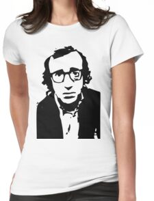 Annie Hall Woody Allen Stencil Womens Fitted T-Shirt