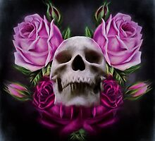 Skull And Rose's 4 by Gypsykiss