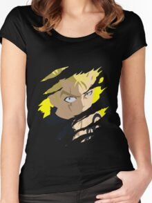 fairy tail laxus anime manga shirt Women's Fitted Scoop T-Shirt