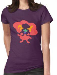 Oddish - Gloom - Vileplume Womens Fitted T-Shirt