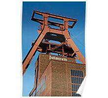 Zollverein coal mine, Ruhrgebiet, Germany. Poster