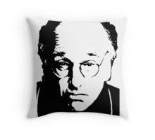 Seinfeld Comedian Larry David Throw Pillow