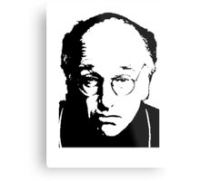 Seinfeld Comedian Larry David Metal Print