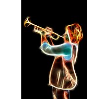 The Trumpet Player Photographic Print