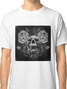 Skull And Rose's 5 BW Classic T-Shirt