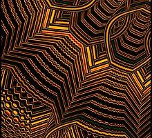 """Fall Talis Pattern"" by im1happy2"