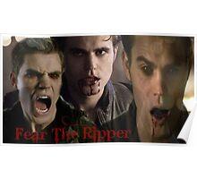 Stefan Salvatore / Ripper Poster