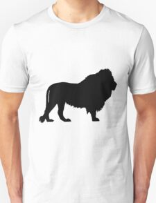 Silhouette of a Lion T-Shirt