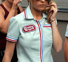 Lindsay Lohan by Justin Bellflower