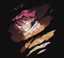fairy tail natsu dragneel anime manga shirt by ToDum2Lov3