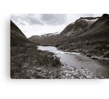 High and above Canvas Print