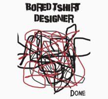 Bored Tshirt Designer One Piece - Short Sleeve