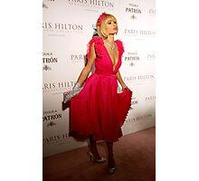 Paris Hilton Photographic Print