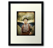 The Boy With The Broken Halo Framed Print