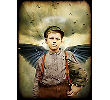 The Boy With The Broken Halo Photographic Print