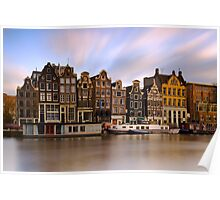 Houses in Amsterdam - The Netherlands Poster