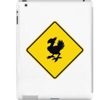 Chocobo Crossing - N. American Signage iPad Case/Skin
