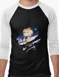 fate zero saber anime manga shirt Men's Baseball ¾ T-Shirt