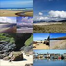 The Blue Of Summer - Hebridean Collage by kathrynsgallery
