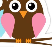 Owl love you Sticker