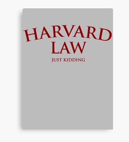 Harvard Law Canvas Print