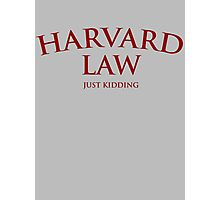 Harvard Law Photographic Print