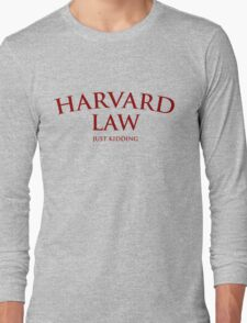 Harvard Law Long Sleeve T-Shirt