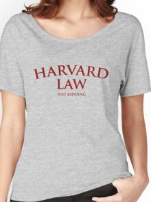 Harvard Law Women's Relaxed Fit T-Shirt