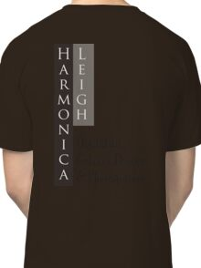 Harmonica Leigh digital art graphic design and photography Classic T-Shirt