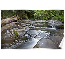 dancing water on erskine river Poster