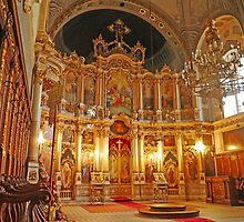 Inside the Orthodox Cathedral of St George, Novi Sad by Graeme  Hyde