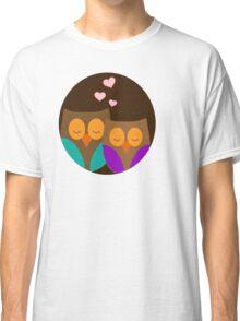 Romantic Owls Classic T-Shirt