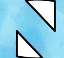 UNC Logo Carolina Blue Watercolor Sticker