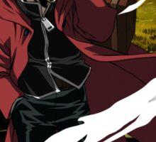 fullmetal alchemist edward elric anime manga shirt Sticker